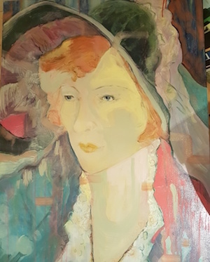 MARIA TURNER Cara Eliza Oil on canvas 76 x 100cm